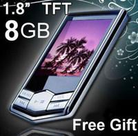 "Wholesale Lcd Mp4 Player 16gb - Big discount! 8GB 16GB Slim 1.8""LCD MP3 MP4 FM Radio Player Video+Free shipping!!"