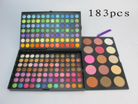 Wholesale Eyeshadow 183 Colors - free shipping DHL ! New Professional 183 Colors makeup Palette eyeshadow Palette   eyeshadow Palettes
