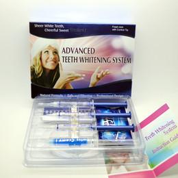 Wholesale Whitening Syringe Wholesale Kit - Teeth Whitener Free Shipping, 4pcs teeth whitening gel syringe,Teeth Whitening Kit Carbamide Peroxide gel,shrink wrapped