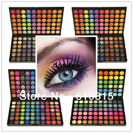 Cosmetic box 120 Ombretto Full Color Palette Ombretto Professionale Set di trucchi cosmetici A, B, C, D
