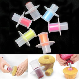 Wholesale Kitchen Cupcake Cake Corer Plunger - Kitchen Cupcake Muffin Cake Corer Plunger Pastry Decorating Cutter Model Tool