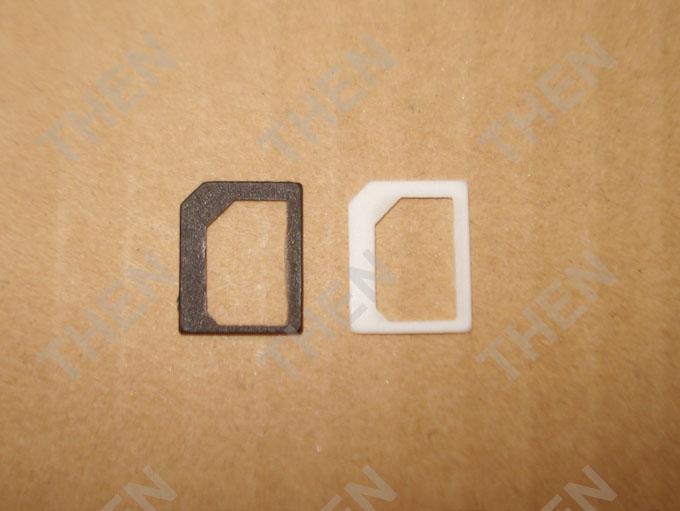 نانو سيم محول ، نانو إلى مايكرو سيم محول بطاقة محول لفون 4G 4S 5G 6G 6Plus سامسونج نوكيا بالجملة /