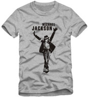 Wholesale Tshirt Cotton For Children - Free shipping T-shirt For 90-150cm kids tshirt Michael Jackson t shirt mj t shirt dance t shirt for children 100% cotton 6 color