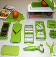 Wholesale Dicer Plus - Hot Sale Easy Vegetable Fruit Nicer Dicer Slicer Cutter Plus Container Chopper Peeler Set