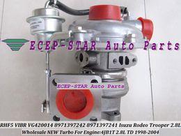 2019 turbocompressore isuzu 4jb1t RHF5 VIBR 8971397243 VA420014 VG420014 8971397242 8971397241 Turbocompressore turbo turbina per Isuzu Rodeo Trooper 1998-04 4JB1 4JB1T 2.8L TD sconti turbocompressore isuzu 4jb1t