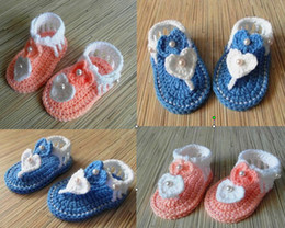 Wholesale Toddler Shop Wholesale - 35%off 5pairs 10pcs Beautiful new princess crochet sandals cheap shoes shoes shop baby shoes baby wear toddler shoes  kid shoes shoes online