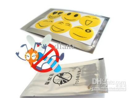 Camping Repellent Sticker Glimlachend gezicht Beste Mosquito Natuurlijke afstotende Patch Insect Bug Protect