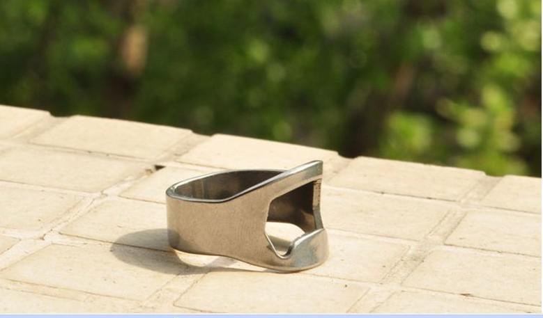 Apri di bottiglia dell'anello di barretta dello strumento della barra di birra dell'acciaio inossidabile di trasporto /