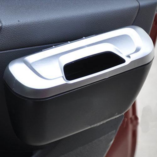 Car Trash Bin Storage Box Green Car Door Side Ctl028 Car