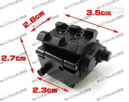 Wholesale Wholesale Red Laser Pistol Sight - MINI Red Dot Sight Laser With Detachable Picatinny Rail for Pistol FreeShipping MYY1685