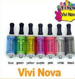 Wholesale Double Vivi - Colourful double heater for large Tank atomizer vivi nova for EGO-T colorful holder Free Shippingh