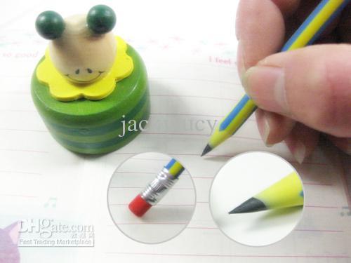 Pomotion! 100 ADET 20 ADET Yenilik Ucuz Düşük Fiyat 18 cm bükülebilir silgi ile esnek yumuşak eğlenceli kalem çocuklar okul tedarik oyuncaklar hediyeler ödül