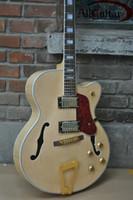 chinesische hohlkörpergitarre großhandel-Benutzerdefinierte Jazz Hollow Body L 5 E-Gitarre chinesische Gitarre