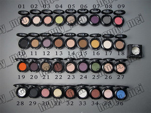 Wholesale Factory Direct DHL Free Shipping New Makeup Eyes 1.5g Eye Shadow Without Mirror And Brush!36 Different Colors