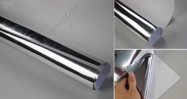 Acquista 60cm x 150cm specchio effetto carta di contatto decorativo residenziale e commerciale - Carta a specchio ...