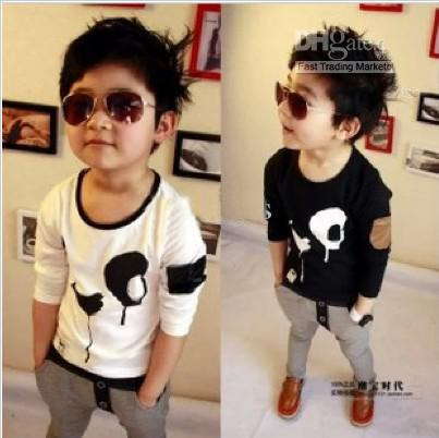 2017 Children's T Shirts Boys Cool T Shirts Children Custom Cotton ...