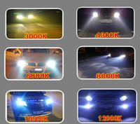 Wholesale Hid Xenon Light High Low - 35w H4 HL high and low beam xenon double lamps bi-xneon Super bright xenon kit lights hid xenon (9007 H13 9003 9004)