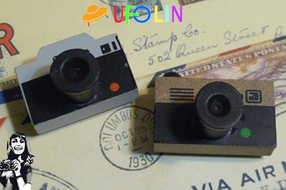 best selling Free Shipping Funny vintage camera shape stamp   gift stamp wholesale