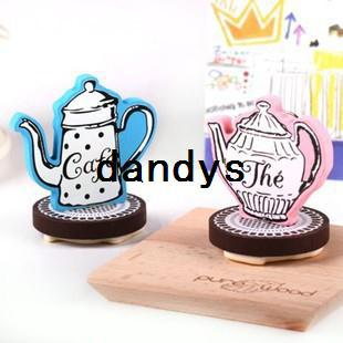 top popular Free Shipping   Funny Fancy a coffee cup stamp gift stamp   valentine gift   bookmark 2021