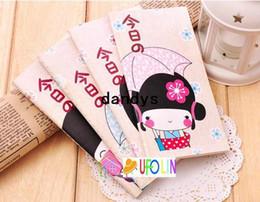 Doce caderno on-line-Frete Grátis / New doce menina japonesa colorido notepad / notebook bloco de notas