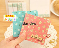 Wholesale Note Book Flower - Natural flower sticky note  memo   Note pads   message post   scratch writing book   Wholesale Freeshipping