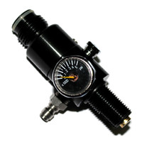 paintball air tank - 4500PSI input Air Tank Regulator Output Pressure PSI paintball airsoft New