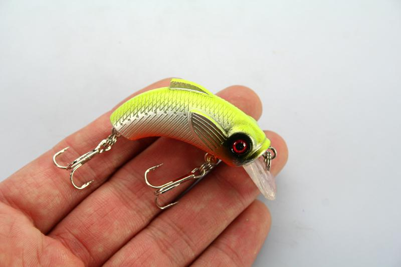Esca da pesca ami Crankbaits 9 g / 5,5 cm di colore assortito