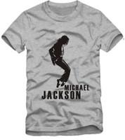 michael jackson tişörtler toptan satış-Ücretsiz kargo Perakende Tee sıcak satış çocuklar t shirt dans t gömlek moda Michael Jackson dans çocuklar için baskılı mj t shirt% 100% pamuk
