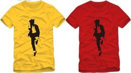 Wholesale Shirt Shorts For Children - Free shipping Retail Tee new sale summer kids t shirt dance t shirt cool Michael Jackson printed mj t shirt for children 100% cotton
