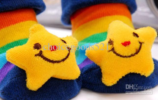Cute Carton Plush Doll Solid Baby Girl Boy Wholesale Gift 3D SOCKS Boots slippers anti-slip NEWBORN 0-12 months,