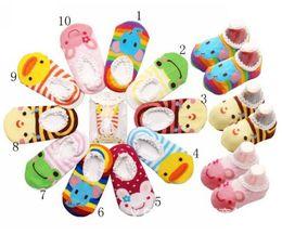 Wholesale Bottom Boat - Baby Boat Socks Children's Shoes Antiskid Non-slip Bottom Cartoon 9-15cm kids toddle socks 50pair l free sihpping