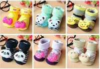 Wholesale Doll Socks Wholesale - Wholesale baby solid socks   Baby Doll socks   non-slip floor socks 20 pairs l