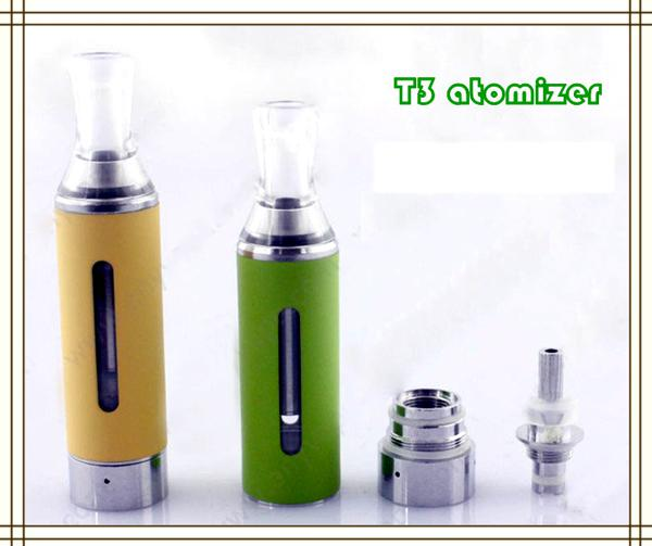 Colorful Electronic Cigars MT3 Clearmizer EGO Cartomizer eVod BCC MT3 Atomizer Suitable for eGo Battery E-cigars Vaporizer