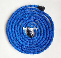 Wholesale hose 75ft resale online - FT Garden hose blue Irrigation USA standard water hose