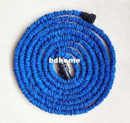 Hose 75ft Canada - Free Shipping 75FT Garden hose blue Irrigation USA standard water hose