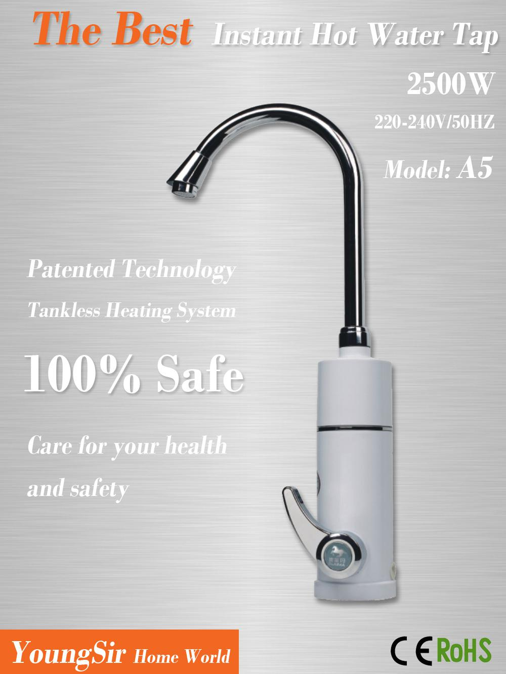 Exceptionnel 2018 2014 New Fast Heating Tap Hot Water Faucet Instant Water Heater On  Demand Use For Kitchen Or Bathroom From Ericyangsz, $66.23 | Dhgate.Com