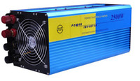 Wholesale Wind Turbine Grid Tie Systems - Free shipping 2500W OFF Grid Tie Power Inverter 50Hz For Solar Panel Wind Turbine System