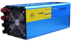 Wholesale Solar Power Grid Panel - Free shipping 2500W OFF Grid Tie Power Inverter 50Hz For Solar Panel Wind Turbine System