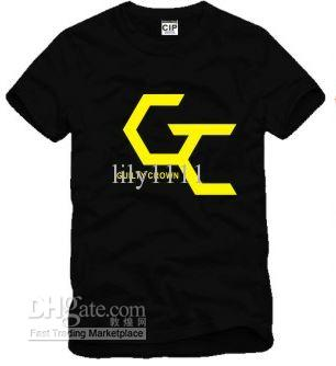 Envío gratis tamaño chino S - XXXL camiseta de algodón anime culpable corona logotipo impreso camiseta tops camiseta para unisex 100% algodón