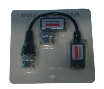 1 channel Mini CCTV Passive Video Balun Connector BNC Cat5 UTP For CCTV Camera /DVR Express