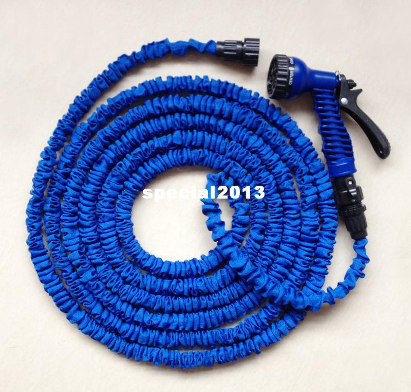 Free Shipping 50ft Water Hose with one Sprayer expanding expandable hose