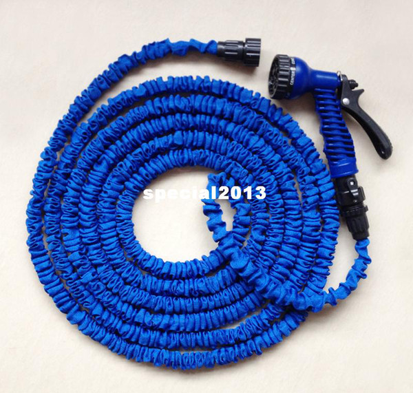best selling Free Shipping 50ft Water Hose with one Sprayer expanding expandable hose