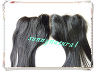 Wholesale Top Closure Clips - fashion Brazilian hair Guarantee wave 100% human hair human Hair lace frontal with baby hair top closure,centre part