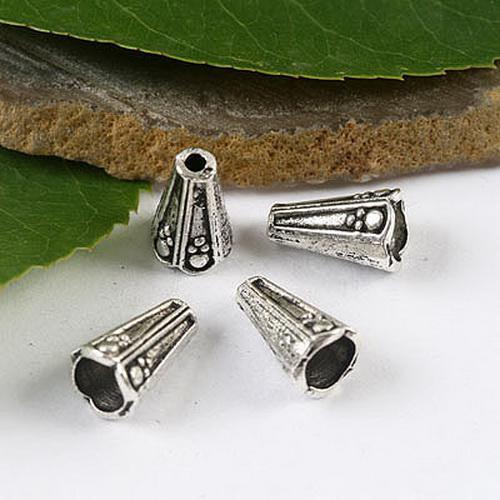 Tamiz de plata tibetana de 50 piezas TAMAÑO aproximado: 12.6mm Material: metal de aleación de zinc sin plomo H1528