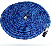 Wholesale Expandable Flexible Water 25ft - New Expandable Flexible Water Garden Hose flexible water pipe Wash car 25FT 50FT 75FT Simple Packaging DHL