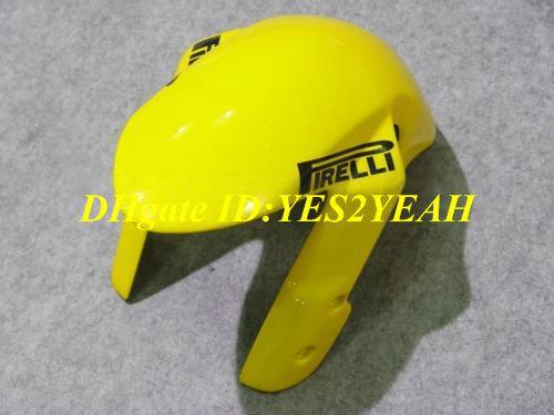 Kit de carénage de carrosserie pour 2006 2007 SUZUKI GSXR600 750 GSXR600 GSXR750 K6 06 07 GSXR 600 GSXR 750 kit de carénages jaune bleu SJ44