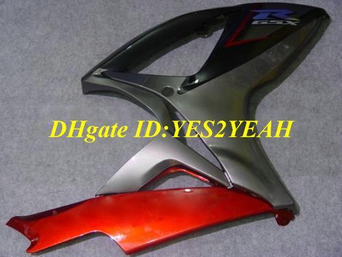 Kit de carenagem para SUZUKI GSXR600 750 2006 2007 GSXR600 GSXR750 K6 06 07 Kit de carenagens preto vermelho GSXR 600 GSXR 750 SJ47