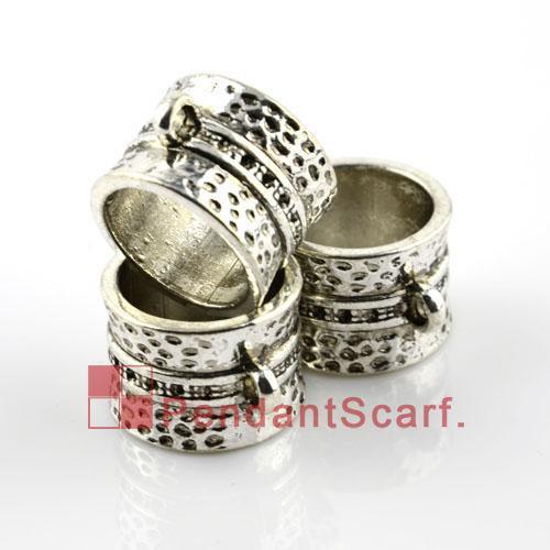 / vente chaude bricolage bijoux écharpe pendentif accessoires en alliage de zinc conception bague charme glissières tube, livraison gratuite, AC0006