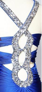 Trasporto libero all'ingrosso vestito da signora convenzionale di dimensione superiore 2 di alta qualità / abiti da cerimonia nuziale / vestito dal v-collo