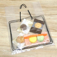 Wholesale Food Korea - 250*350mm Printed desert Biscuit Packing bag Food Packing Bag Korea Style Snack Bag gift bag take away bag